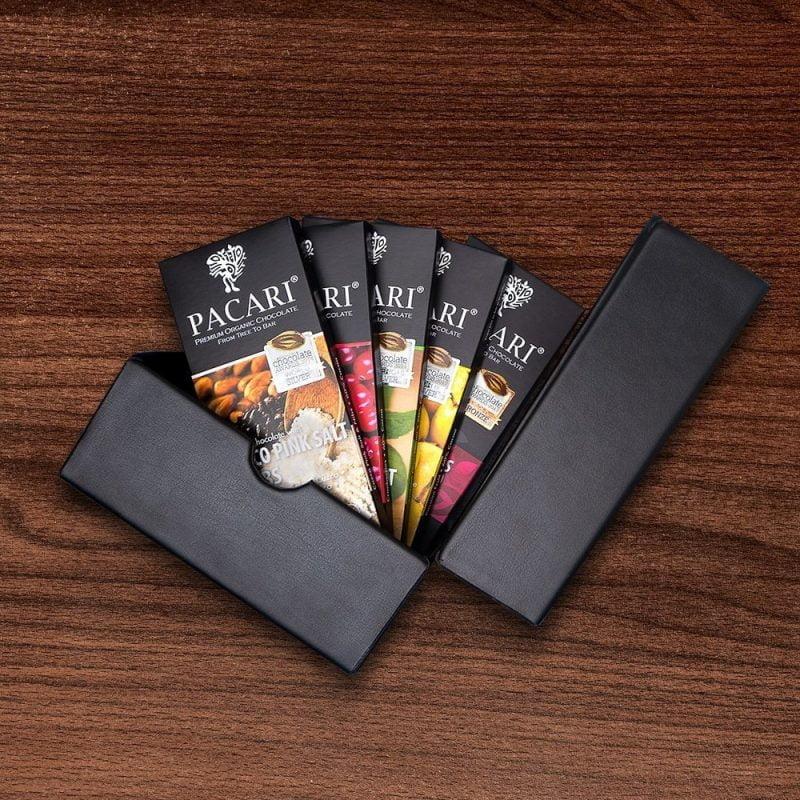 Pacari Chocolat Barres récompensées (5 pcs)