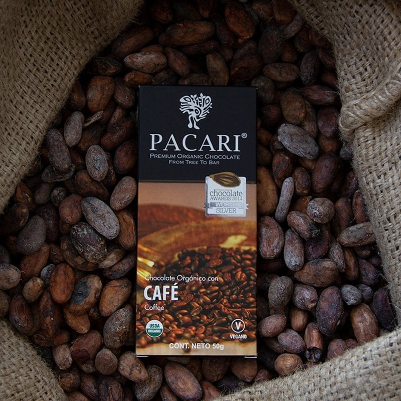 7862109271384 - Pacari - Organique chocolat - Cafe