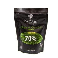 Pacari Chocolat de couverture 70%