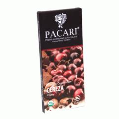 Chocolat organique Cerise