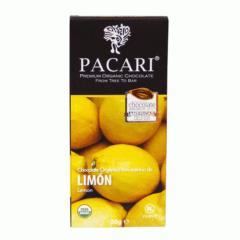 Chocolat organique Citron