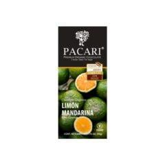 Chocolat organique Citron Mandarine