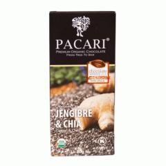 Chocolat organique Geigenbre et graines de chia