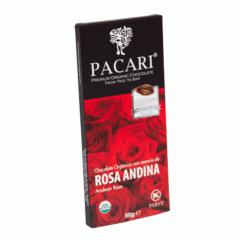 Chocolat organique Rose Andine