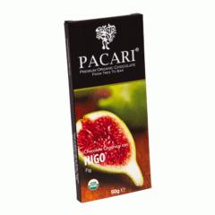 Chocolat organique figues