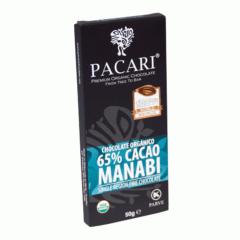 Chocolat organique Manabí 65% Cacao