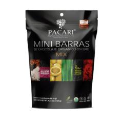 Pacari Organique chocolat Mix 12 Minibarres